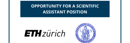 OPPORTUNITY FOR A SCIENTIFIC ASSISTANT POSITION
